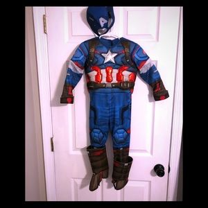 Other - Boys Captain America costume